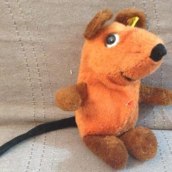 Steiff The Mouse. German TV Character EAN 7855/28