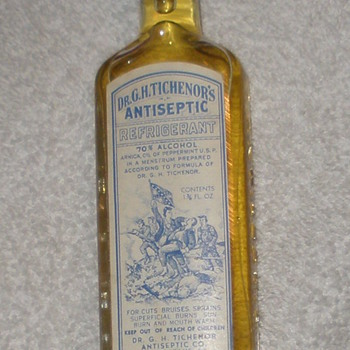 Dr. Tichenor's Antiseptic - Bottles