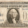 1928 Series A Silver Certificate Dollar Bill
