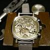 1970's Ollech & Wajs Chronograph Wristwatch