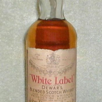 1980's - Dewar's Whie Label Scotch Whisky - Bottles