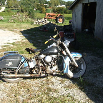 1954 Harley-Davidson 50th - Motorcycles