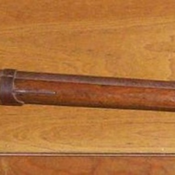 Early Muzzle Loader-- Gift from an old friend