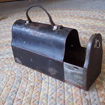 Best find so far - 1913 slide out lunchbox - Kitchen