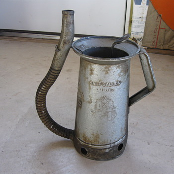 Huffman Oil Can - Petroliana