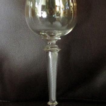 Vintage? or Antique? Wine Goblets.