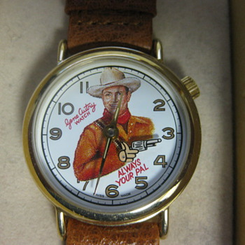 Gene Autry Re-Issue Watch - Wristwatches