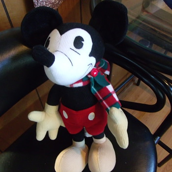 Stuffed Mickey from Aimathena - Dolls