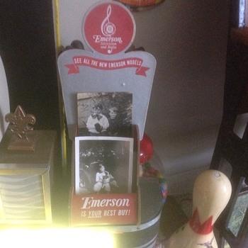 Emerson television and radio displays