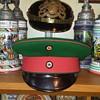pre-WWI visor cap of an unteroffizier or feldwebel of a Prussian Jäger-Battalion.