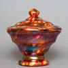 Kralik millefiori Iris candy jar