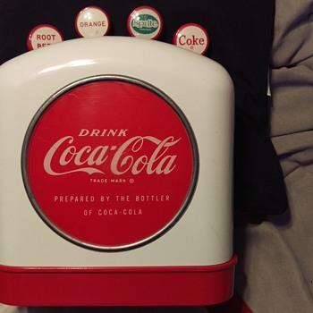 Coca-Cola Tombstone Dispenser