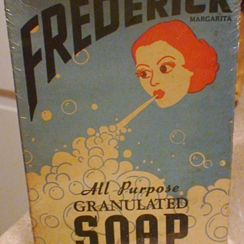 Frederick Soap Margarita - Advertising