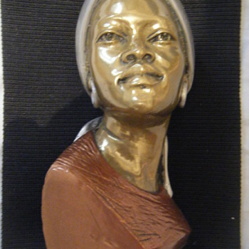CASPER DARARE BRONZE BUST - Visual Art