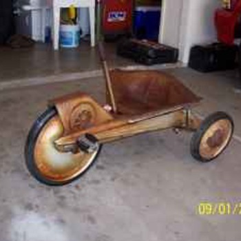 hot wheels pedal car?