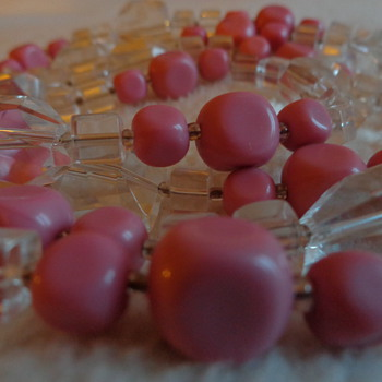Vintage Glass Beads - Costume Jewelry