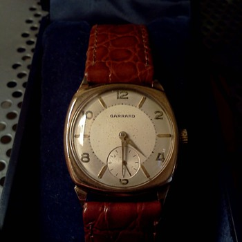 1946 Garrard 9K case - Wristwatches