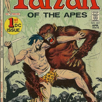 Tarzan of the Apes - First DC Issue - 1972 - Comic Books