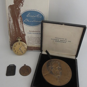 My Abraham Lincoln Collection - Pocket Watches