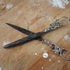 Scissors, Silver. Late 1800's ?