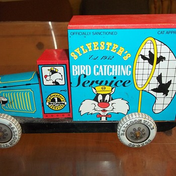 VINTAGE TOY TRUCK - Model Cars