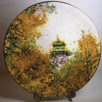 "Chen Chi""Imperial Palace""Royal Daulton, Collectable Plate"