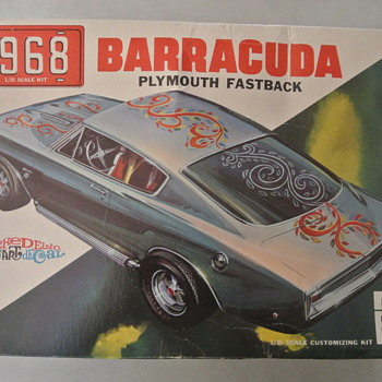 MPC 1968 Plymouth Barracuda Fastback Model Kit