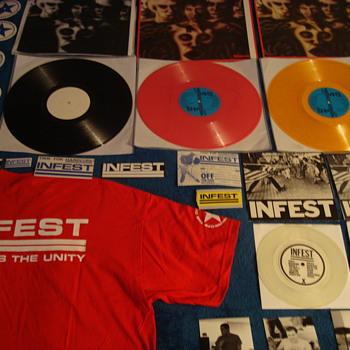 INFEST early discography collection - Music
