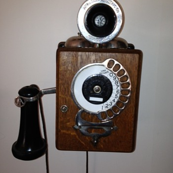 1905 Stowger, Automatic Electric Co - Telephones