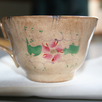 Old brown cup - China and Dinnerware