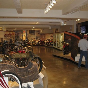 Indian Moto-Cycle Museum & Original Factory - Motorcycles