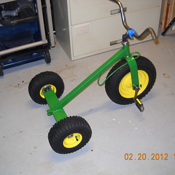 My flea market tricycle - Tractors