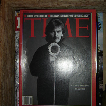 George Harrison Memorial Magazine - Music