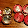 Utica Club (Glass/metal) Buttons