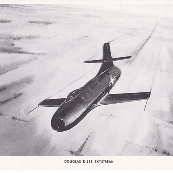 Douglas Aircraft Series D-558 Skystreak - Advertising