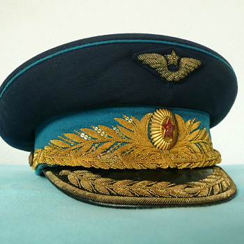 Soviet Parade Visor Cap of an Air Force General (early version) - Military and Wartime