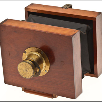 "Anthony's Eureka Camera AKA ""Companion"" Camera c. 1890 - Cameras"