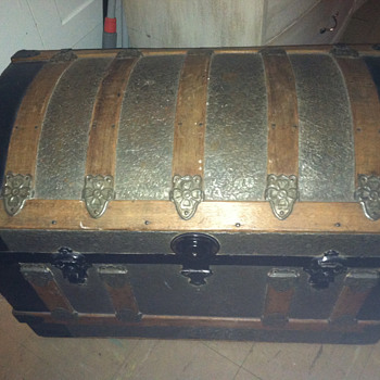 An old trunk found years ago in Boston, MA