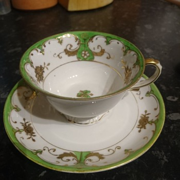 Vintage Noritake Cup & Saucer - Any idea on Pattern or date? - China and Dinnerware