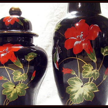 Another Japanese Vase ( Matched Set ) - Asian