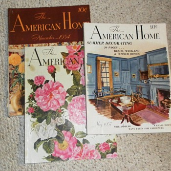 1030's  AMERICAN HOME Magazines - Paper