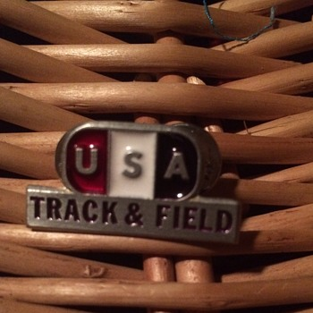 USA Olympic Track and Field Pin