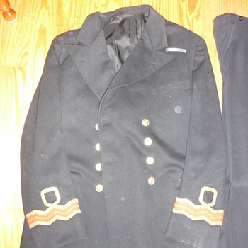 WWII Canada Navy Uniform