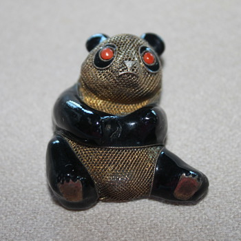 Silver Chinese Panda Bear - Fine Jewelry