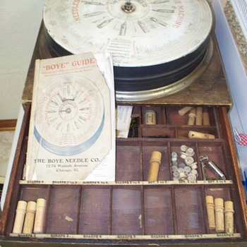 Boye Needle Company Display Case - Advertising