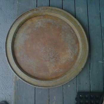 Copper Platter needs identifying