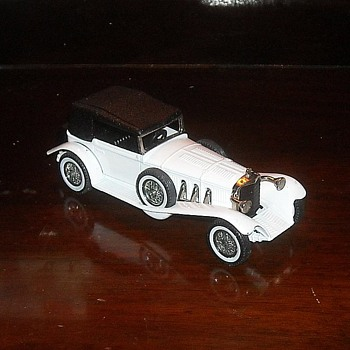 Matchbox Models of Yesteryear Y-16 1928 Mercedes SS - Model Cars