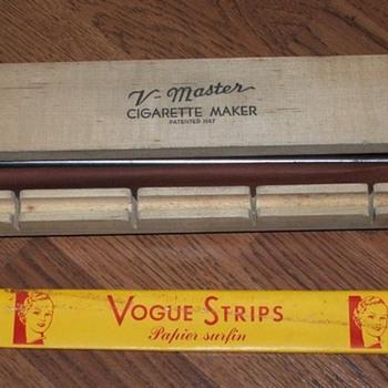 V - Master cigarette maker - Tobacciana