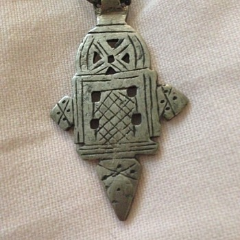 Antique Bronze Pendant (Nordic?) - Fine Jewelry
