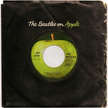 "45rpm Record - ""The Beatles"" (1968) - Records"